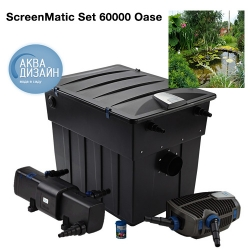 Саки - Комплект фильтрации BioTec ScreenMatic Set 60000 Oase