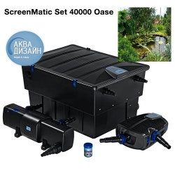 Саки - Комплект фильтрации BioTec ScreenMatic Set 40000 Oase