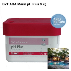 Регулятор pH BWT AQA marin pH Plus 3 kg